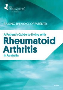 Raising the Voice of Patients: A Patient's Guide to Living with Rheumatoid Arthritis in Australia