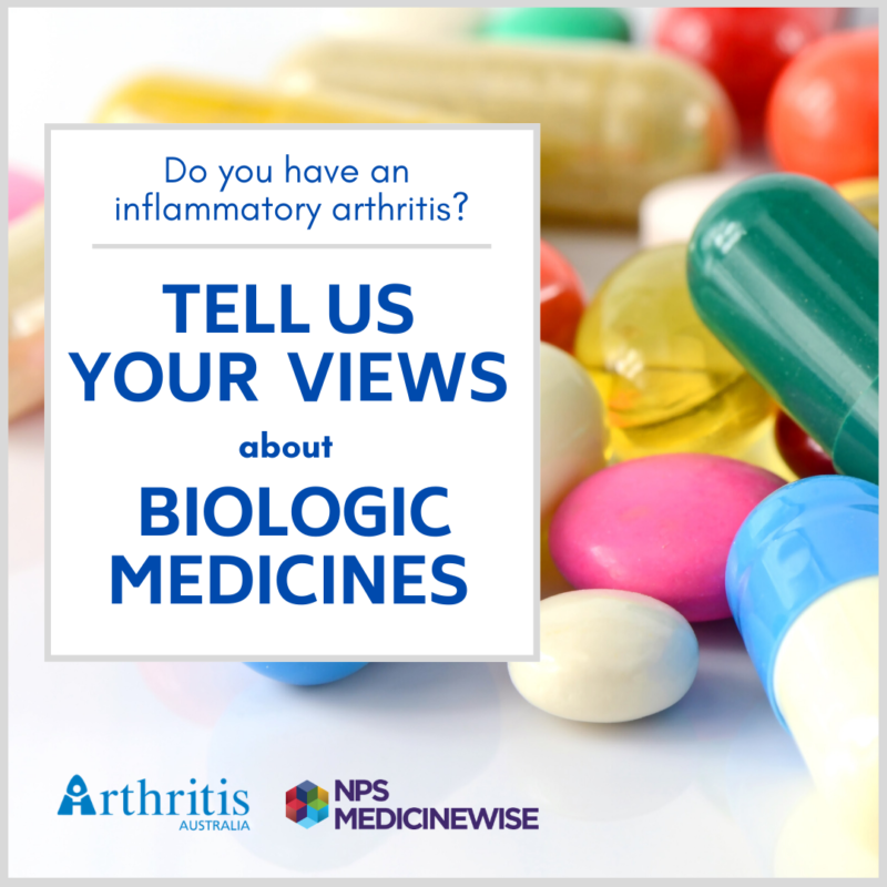 Survey: Attitudes of People with Inflammatory Disease to Biologic Therapy