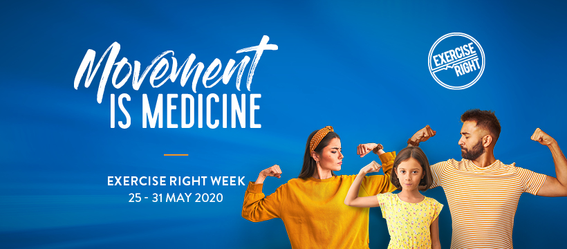Exercise Right Week 2020