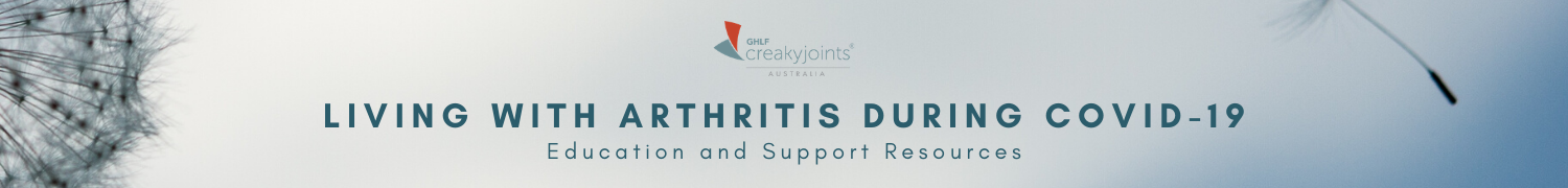 Living with arthritis during COVID-19