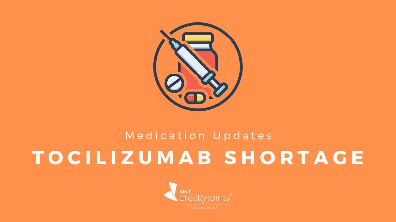 Tocilizumab shortage